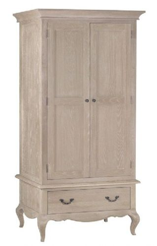 French Oak Double wardrobe